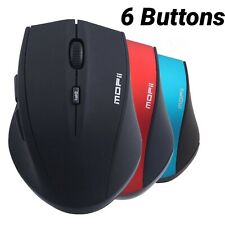 MOFII Bluetooth Wireless Mouse 6 Buttons 3000 DPI Adjustable 2.4G Optical Mice