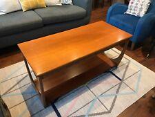 G Plan Fresco 1960s Vintage Retro Midcentury Modern Teak Coffee Table with shelf