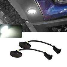 Front Side Marker Light Smoke Lens For 2010-2014 Ford Raptor  with LED BULB