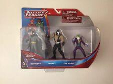 BNIB DC Comics Justice League figurines - BATMAN, BANE, THE JOKER