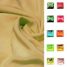 "Solid Patterned 100% Silk 45"" Craft Fabrics"