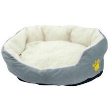 Small Medium Pet Dog Bed Soft Fleece Cozy Warm Nest Bed House Cotton Mat for Dog
