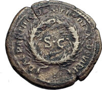 TRAJAN 116AD Semis for Antioch Seleucia Authentic Ancient Roman Coin i44179