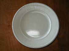 "Wedgwood England EDME Set of 2 Dinner Plates 10 1/2"" Off White Ivory Cream"
