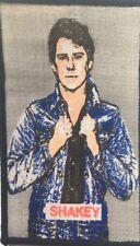 More details for rockabilly - old og vtg 70/80`s printed patch sew on rock n roll teddy boy elvis