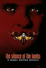 SILENCE OF THE LAMBS 1991 Oscar Best Picture Ver B DS 2 Sided 27x40 Movie Poster