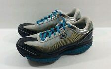 Skechers Women's Black/Blue SRR Resistance Runner 12371 - Size 7