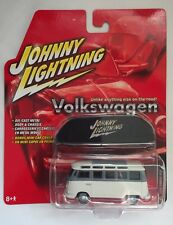 Johnny Lightning 1966 '66 VW Volkswagen Samba Bus + Car Cover Die-cast 1/64