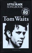 Tom Waits The Little Black Songbook Guitar Chords & Lyrics Music Song Book