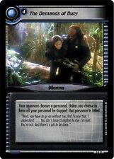 Star Trek CCG 2E Call To Arms The Demands Of Duty 3R31