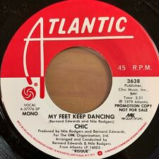 "Chic - My Feet Keep Dancing // 7"" - 1.US-Pressing 1979 - Promo Copy - TOP"