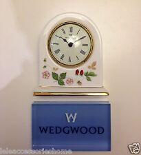 Orologio Dome - Orologio da tavolo porcellana - Wild Strawberry - Wedgwood