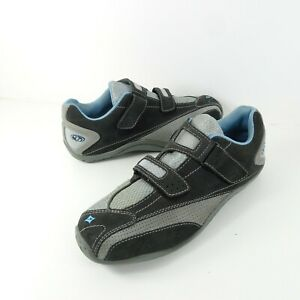 Specialized Womens Cycling Shoes Body Geometry Sonoma Gray Blue Size 9 EU 40
