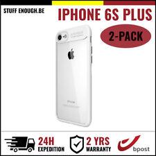 2IN1 Focus Cover Cas Coque Etui Silicone Hoesje Case For iPhone 6S Plus White