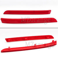 2x For VW Transporter T5 Rear Bumper Reflector Tail Brake Light Cover 2011-2016