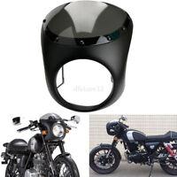 "7"" Moto Pare-brise Vintage Drag Racing Viper Cafe Racer Phare Carénage guidon"