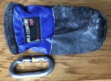 Rock Climbing Gear chalk bag By Wild Country & Black Diamond Carabiner