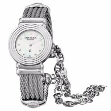 Charriol Women's St Tropez Art Deco MOP Diamond Dial Quartz Watch 028LS540326