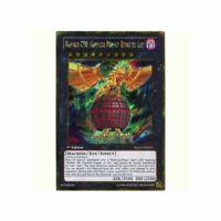 Number C88 Gimmick Puppet Disaster Leo - PGLD-EN021 - Gold Secret Rare - Yugioh