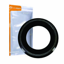 for iPhone 6 rear camera lens and frame black grey