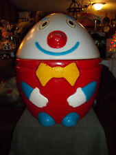 Vintage Plastic Humpty Dumpty Toy Box/Chest-Blow Mold - Super Rare