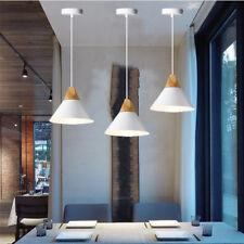 Kitchen Pendant Light Bar Lamp Bedroom Ceiling Lights White Chandelier Lighting
