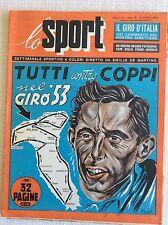 IL CICLISMO 1953 GIRO D' ITALIA PARIGI ROUBAIX COPPI  - BASKET BORLETTI REAL M.