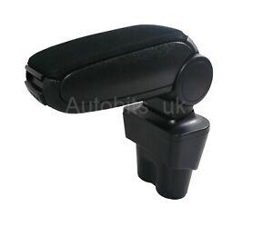 For Vw Caddy 2k Touran 2003+  Car Armrest Arm Rest + Assembly Set Black Textile