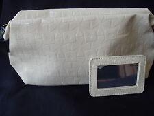 Estee Lauder Large Cosmetic Bag + Mirror Set