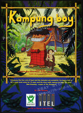 KAMPUNG BOY__Original 1998 Trade Print AD__TV series promo__Philippine Animation
