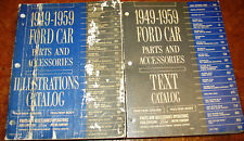 Ford Parts Books Catalogs 1949 1950 1951 1952 1953 1954 1955 1956 1957 1958 1959