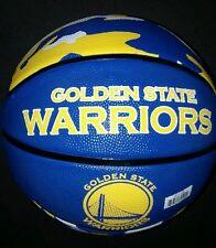 "Spalding NBA Golden State Warriors Full-Sized Court Side team Basketball, 29.5"""