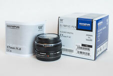 New Olympus 17mm f/1.8 M.ZUIKO Wide-Angle Lens for Micro 4/3 Black FREE SHIPPING