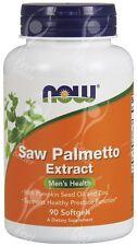 Now Foods Saw Palmetto Extracto Con Calabaza & Cinc x 90