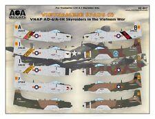 AOA decals 1/32 VIETNAMESE SPADS 1 VNAF AD-6/A-1H Skyraiders in the Vietnam War