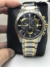 Men's Citizen Eco-Drive AT4004-52E Radio Controlled Chronograph Watch-H33