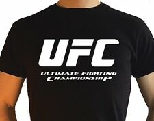UFC Championnat T Shirt Mcgregor Mma Thaï Kickers Boxe Gym Sport Cadeau Men Haut