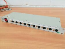 Drake 1U 10-way individually fused IEC power distribution panel 16A pro quality