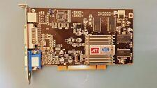 Scheda Video grafica PCI ATI Radeon Sapphire 7000 64mb DDR VGA/TVOutput/DVI-I