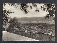 Rudolstadt Postkarte AK Blick vom Schloßaufgang