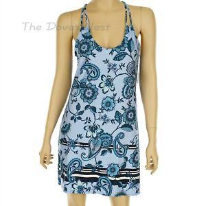 APT. 9 INTIMATES Women's SMALL Racerback PAISLEY Print PURPLE CHEMISE Nightgown