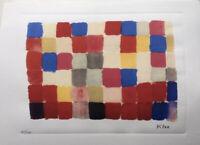 PAUL KLEE - Lithographie signée et numérotée