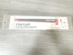 Stay-Tuff Bike Chainstay Protector Pack 1994 Clear NOS