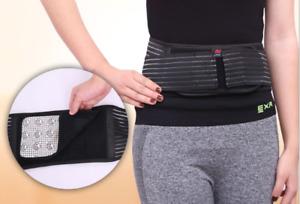 Adjustable Neoprene Lower Back Lumbar Waist Support Belt Brace Strap NHS