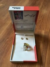 Katy Perry Ring Earrings Set Whatever It Takes Charity Contribution in Gift Box