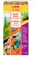 Sera O-Nip 24 Tablets -Tropical Fish Treats -Flakes/Freeze Dried Food Tabs Glass