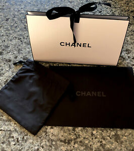 CHANEL Gift Bag With CHANEL Gift Pouch And CHANEL envelope