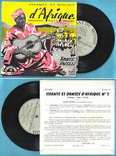 """mini 33t 7"""" KANTE FACELLI Chants et danses d'Afrique Dahomey Niger Guinée"""