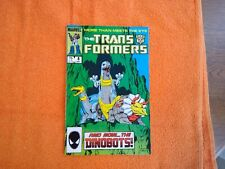 The Transformers #8 (Sep 1985, Marvel) *1st Full App of the Dinobots*