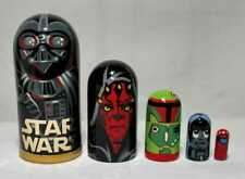 Russian Nesting Dolls Star Wars 5 pieces Beautiful Set for a Gift